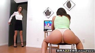 Brazzers - Hot And Mean -  Dirty Little Gamer scene starring Abella Danger & Kimmy Granger