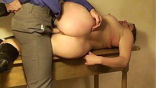 Big ass secretary lets boss fuck her pussy -  Erin Electra