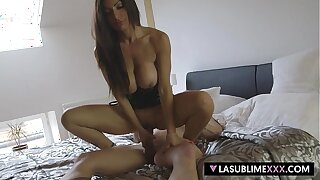 LaSublimeXXX Italian MILF fuck with young Czech guy