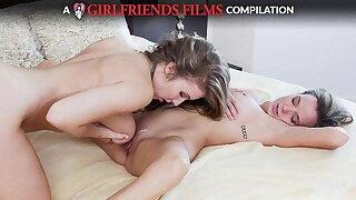 Lesbian Dovefucking Compilation - GirlfriendsFilms
