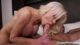 Anal with busty MILF Victoria Lobov