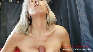 Smoking titty fuck