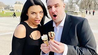 Anal ice cream fuck with Ania Kinski - DATERANGER.com
