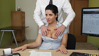 LOAN4K. Beautiful masseuse agrees to have sex in order