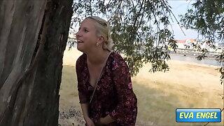 EVA ENGEL: Occupied Toilet? I Pee In Public...