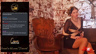 Chastity, Dilator, Selfbondage - BNH Discord Stream #1