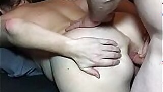 Real MILF Wife Plays With Ass and Anal Sex