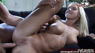 Hot british blonde like deep anal and ass to mouth